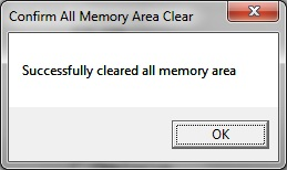 Clear memory omron 3